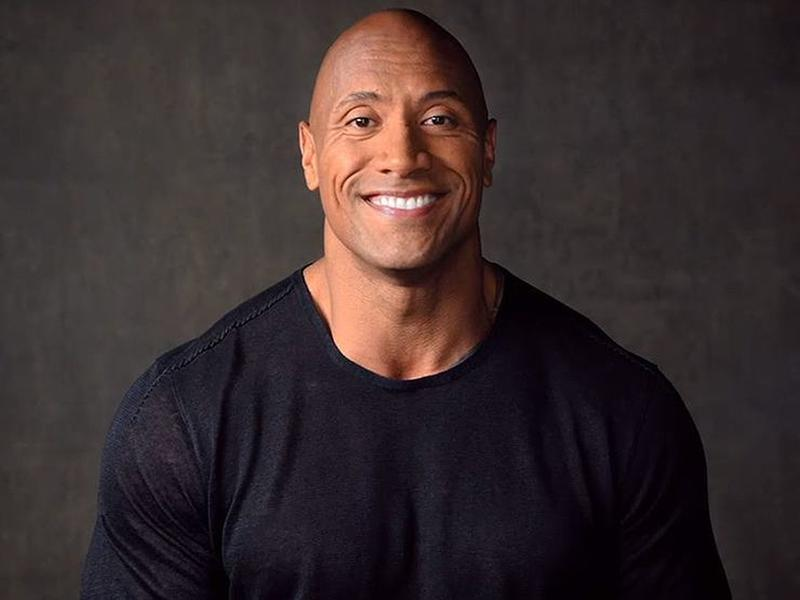 black republican dwayne the rock johnson